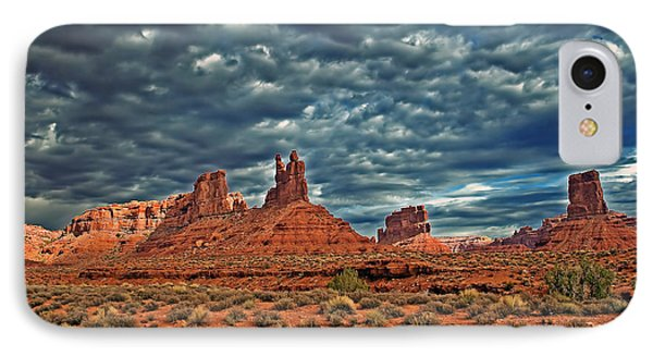 Valley Of The Gods Phone Case by Robert Bales