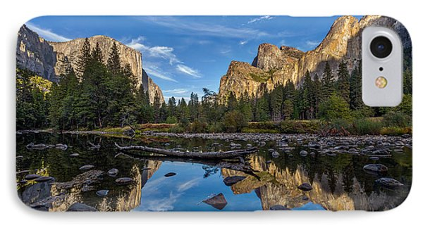 Valley View I IPhone Case by Peter Tellone