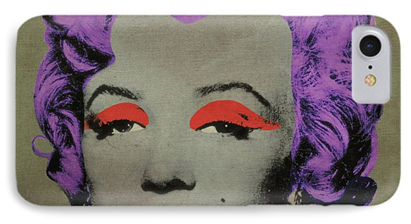 Vampire Marilyn Variant 3 Phone Case by Filippo B