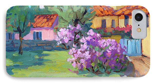 Van Gogh Hospital St. Remy IPhone Case by Diane McClary