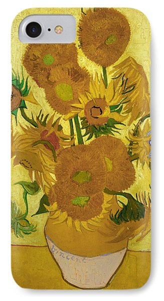Van Gogh Sunflowers, 1888 IPhone Case by Granger