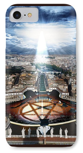 Vatican Rocking View IPhone Case by Marian Voicu
