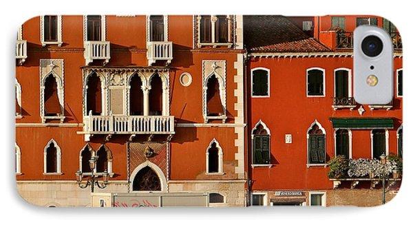 Venetian Red Phone Case by Ira Shander