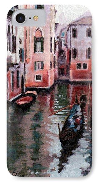 Venice Gondola Ride Phone Case by Janet King