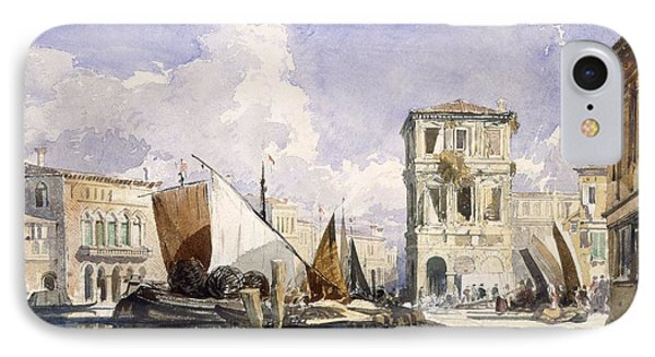 Venice IPhone Case by William James Muller