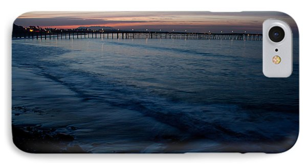 Ventura Pier Sunrise Phone Case by John Daly
