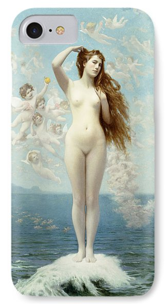 Venus Rising The Star IPhone Case by Jean Leon Gerome
