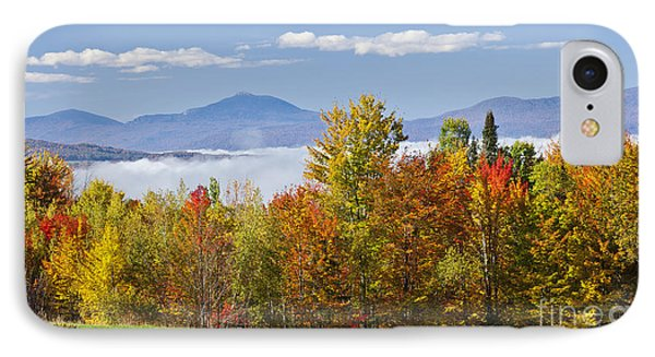 Vermont October Morning Phone Case by Alan L Graham