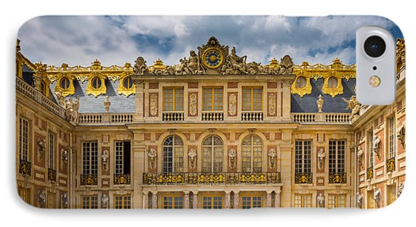 Versailles Courtyard Phone Case by Inge Johnsson