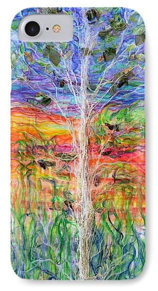 Vertical Space Phone Case by Regina Valluzzi