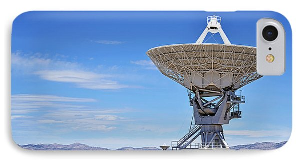 Very Large Array - Vla - Radio Telescopes IPhone Case by Christine Till