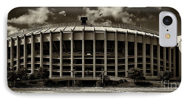Veterans Stadium 1 IPhone Case by Jack Paolini