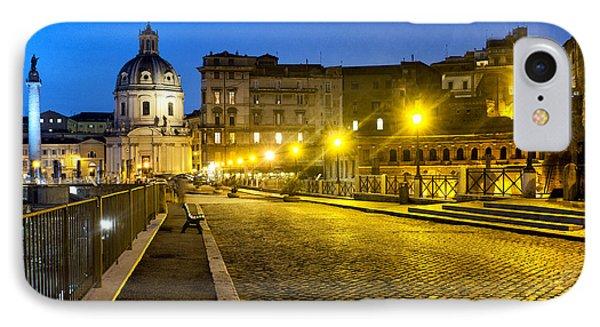 Via Alessandrina Phone Case by Fabrizio Troiani