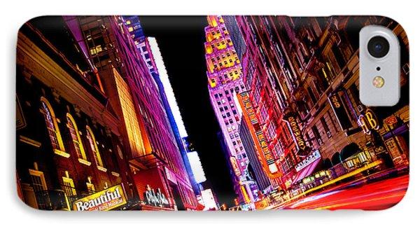 Vibrant New York City IPhone 7 Case by Az Jackson