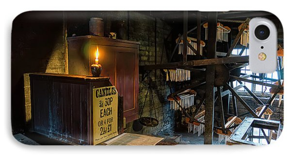 Victorian Candle Factory IPhone Case by Adrian Evans