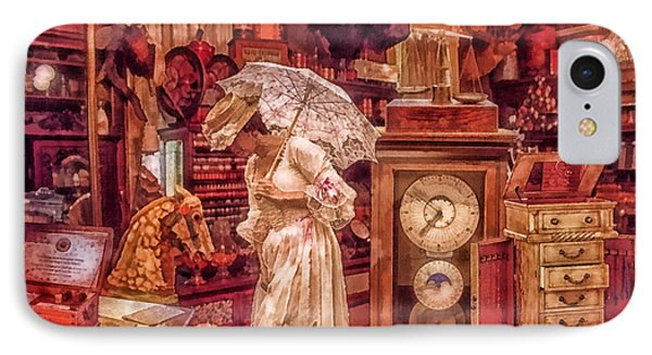 Victorian Shop IPhone Case by Mo T