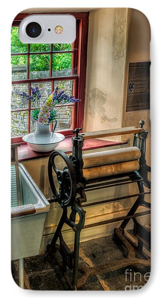 Victorian Wash Room IPhone Case by Adrian Evans