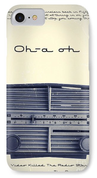 Video Killed The Radio Star IPhone Case by Edward Fielding