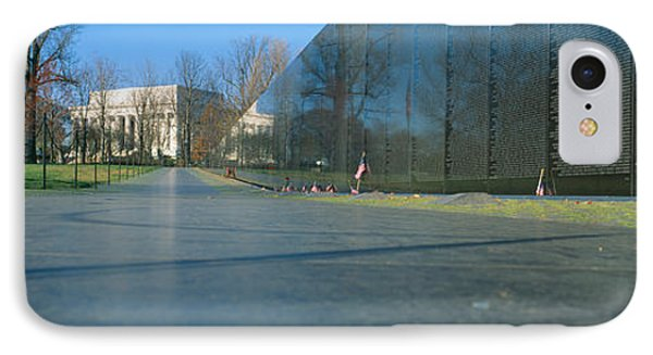 Vietnam Veterans Memorial, Washington Dc IPhone Case by Panoramic Images
