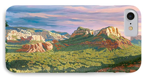 View From Airport Mesa - Sedona Phone Case by Steve Simon