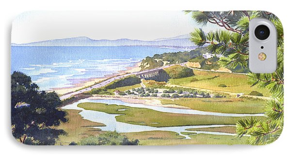 View From Torrey Pines Del Mar IPhone Case by Mary Helmreich