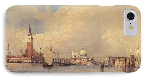 View In Venice IPhone Case by Richard Parkes Bonington