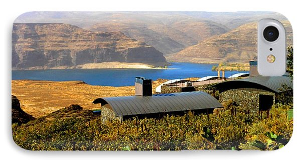 View Of Columbia River Phone Case by Kay Gilley