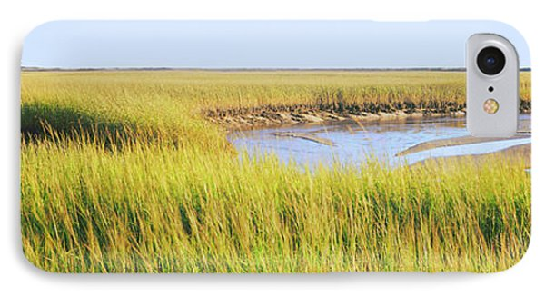 View Of Crop In The Field, Cape Cod IPhone Case by Panoramic Images