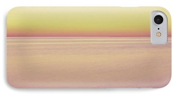View Of Ocean At Sunset, Cape Cod IPhone Case by Panoramic Images