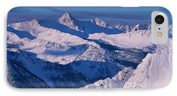 View Of Pfeifferhorn From The Big IPhone Case by Howie Garber