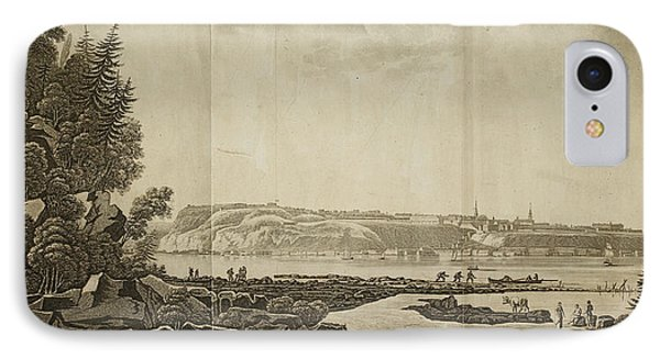 View Of Quebec IPhone Case by British Library