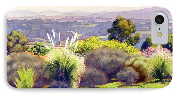 View Of Rancho Santa Fe IPhone Case by Mary Helmreich