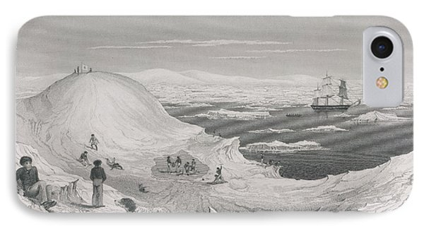 View Of The Antarctic Continent IPhone Case by British Library