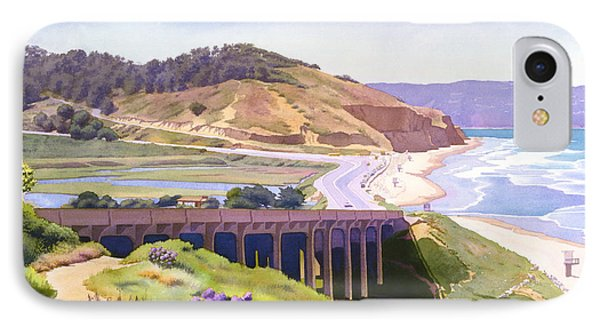 View Of Torrey Pines IPhone Case by Mary Helmreich