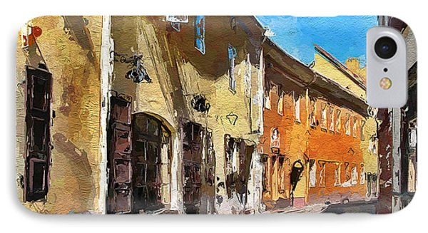 Vilnius Old Town 35 Phone Case by Yury Malkov