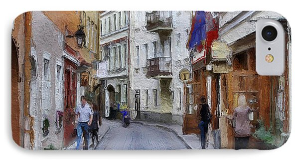 Vilnius Old Town 37 Phone Case by Yury Malkov