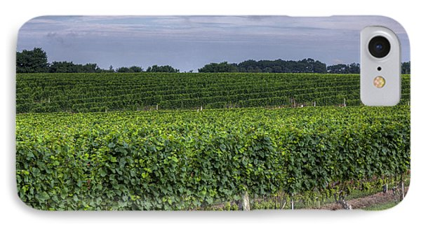 Vineyard Rows Phone Case by Steve Gravano