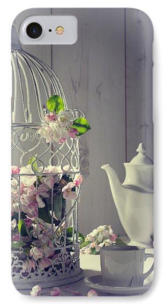 Vintage Afternoon Tea IPhone Case by Amanda Elwell