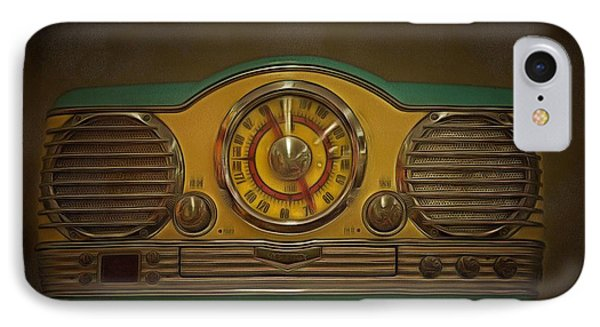 Vintage Am Fm Memorex Radio  IPhone Case by L Wright