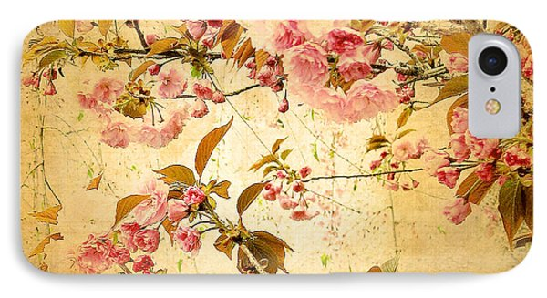 Vintage Blossom IPhone Case by Jessica Jenney