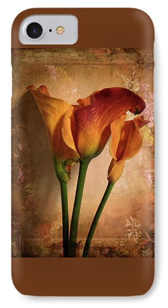 Vintage Calla Lily IPhone Case by Jessica Jenney