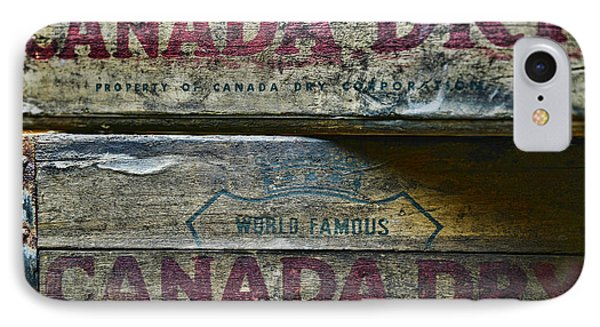 Vintage Canada Dry IPhone Case by Paul Ward