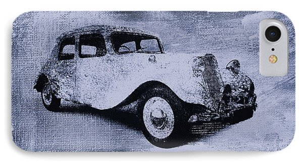 Vintage Car Phone Case by David Ridley