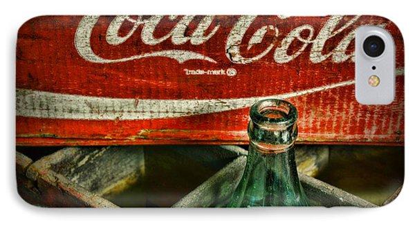 Vintage Coca-cola IPhone Case by Paul Ward
