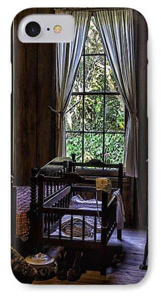 Vintage Crib And Bedroom Phone Case by Lynn Palmer