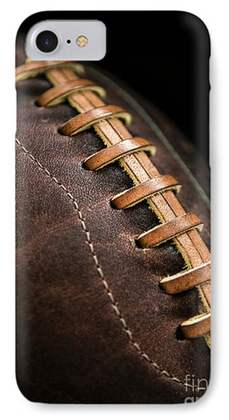 Vintage Football IPhone Case by Diane Diederich