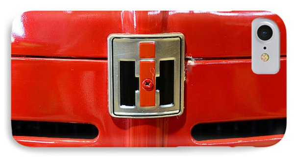 Vintage International Harvester Tractor Badge IPhone Case by Paul Ward