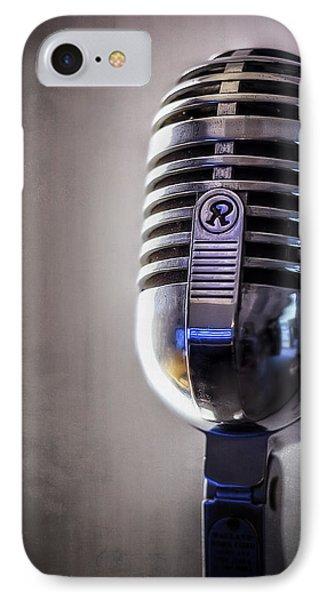 Vintage Microphone 2 IPhone Case by Scott Norris