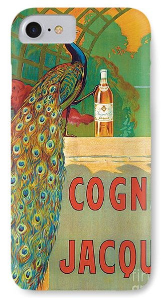 Vintage Poster Advertising Cognac IPhone Case by Camille Bouchet
