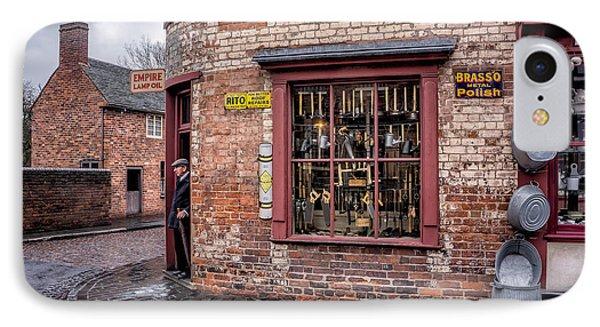 Vintage Shop IPhone Case by Adrian Evans